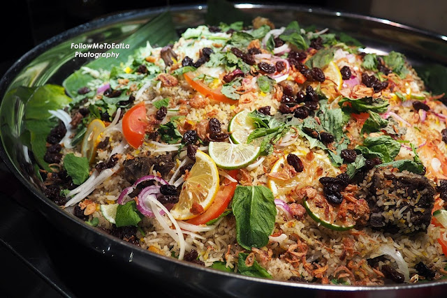 The Fragrant & Colourful Nasi Beriani