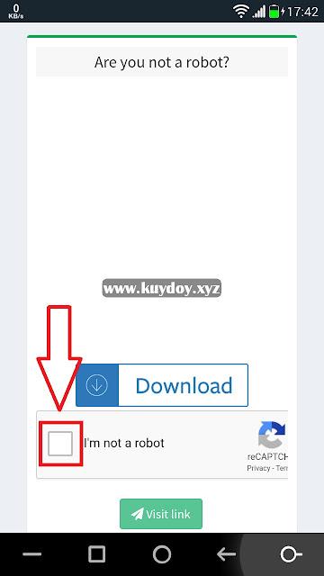 Cara Melewati Link Download Safelinku di Android