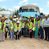 Educadores de diversas cidades do estado de pernambuco e a diretoria da Undime visitaram a Votorantim em Trindade-PE