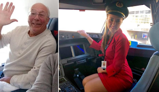 Πατέρας έκλεισε εισιτήρια σε 6 πτήσεις για να είναι μαζί με την αεροσυνοδό κόρη του στις γιορτές