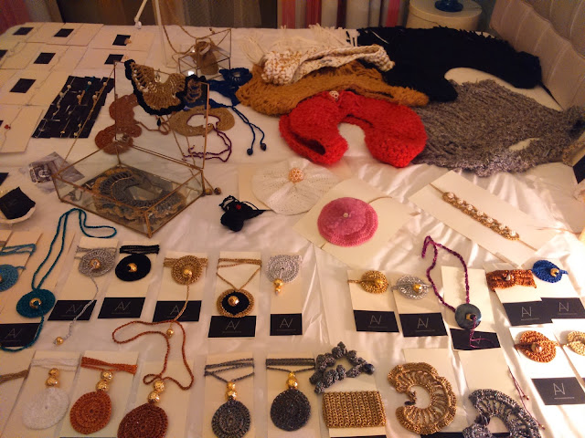 Alexandra Velentza Handmade knitted accessories
