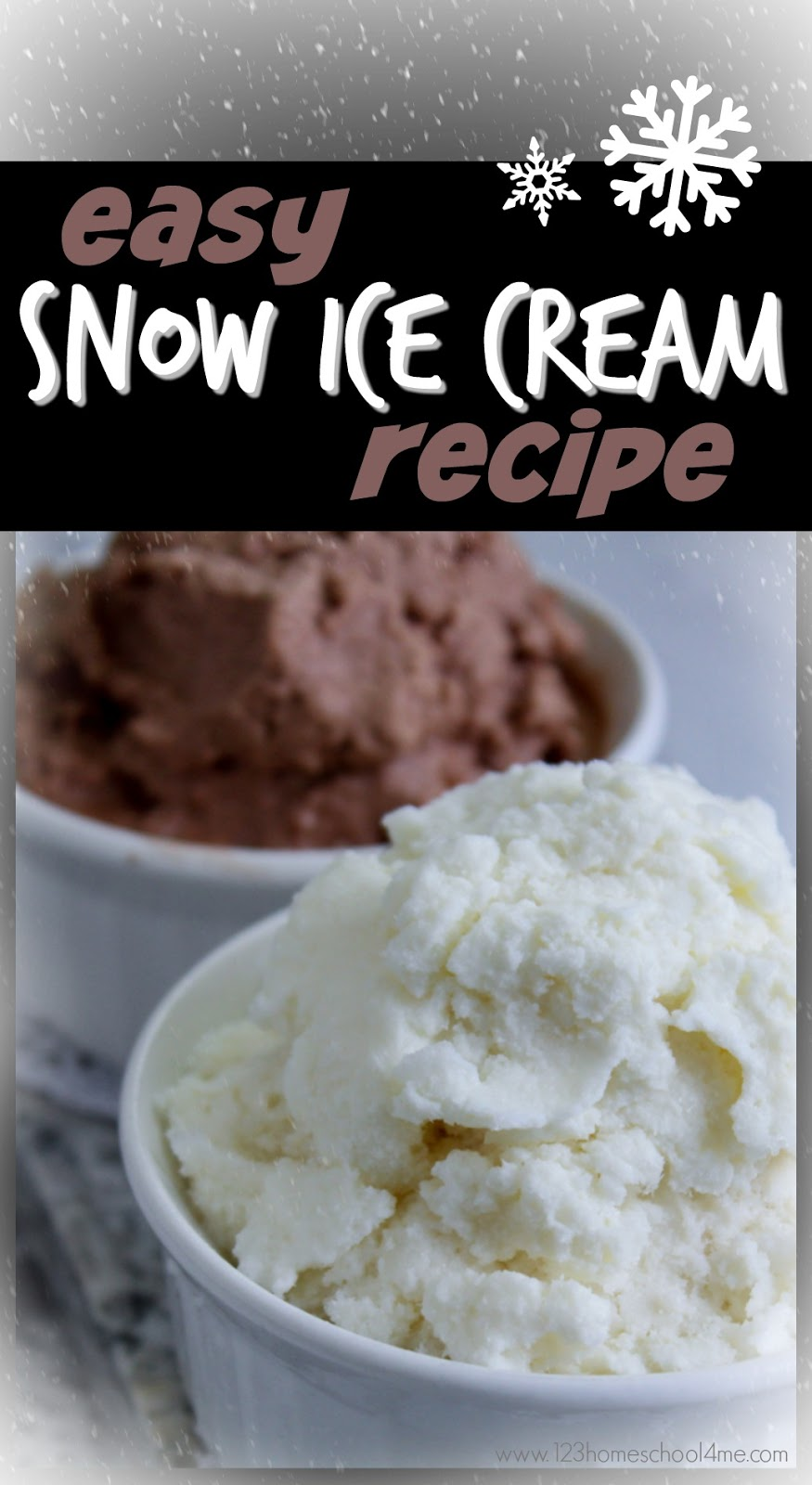 Easy snow ice cream recipe ccuart Gallery