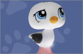 LPS Seagull Figures