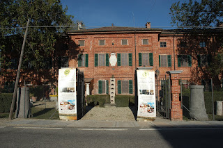The Palazzo Chiablese di Castell'Apertole, the former Savoy hunting lodge near Livorno Ferraris