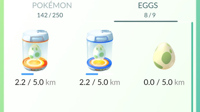 Use Your Journal to Improve Egg Distance in Pokemon GO