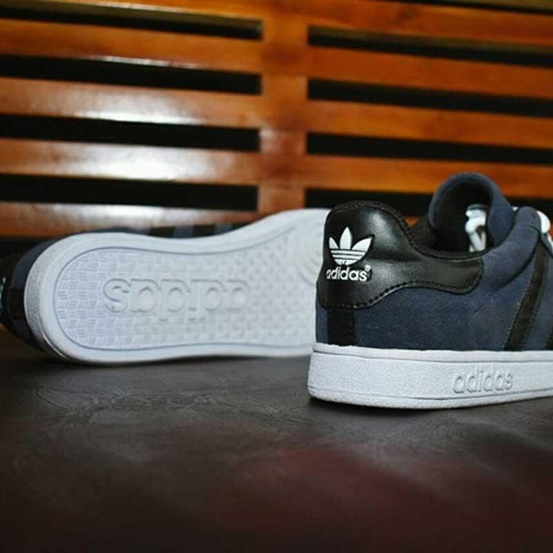Sepatu Adidas Gazelle Abu-Abu Hitam Grade Original [SAG007