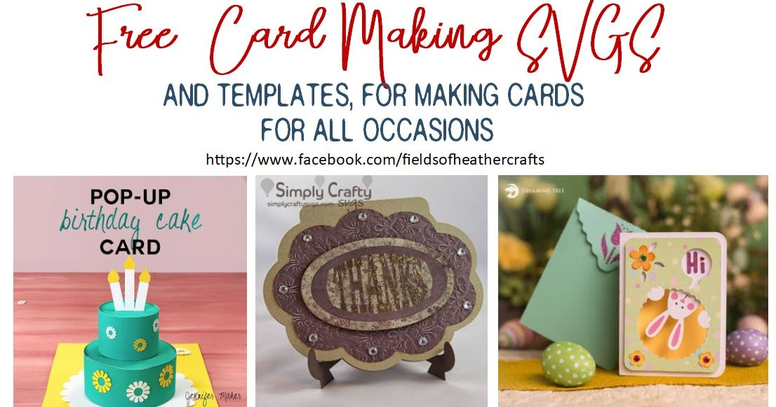 Free Svgs For Card Making