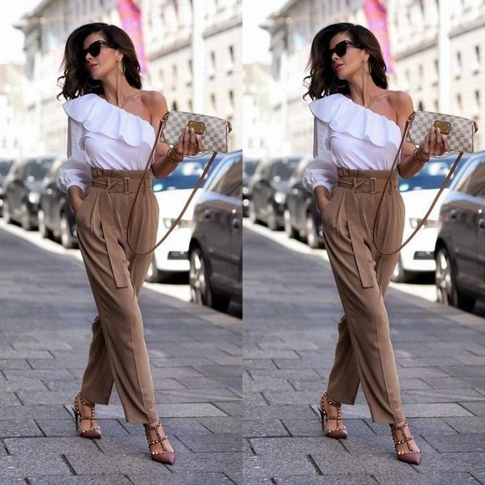Looks com calça de alfaiataria feminina para trabalhar