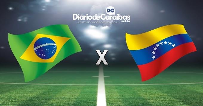 Brasil bate Venezuela e assume liderança das Eliminatórias