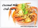 Coconut Milk Crab Curry