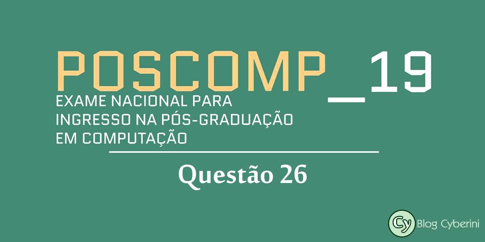 Logotipo do POSCOMP 2019