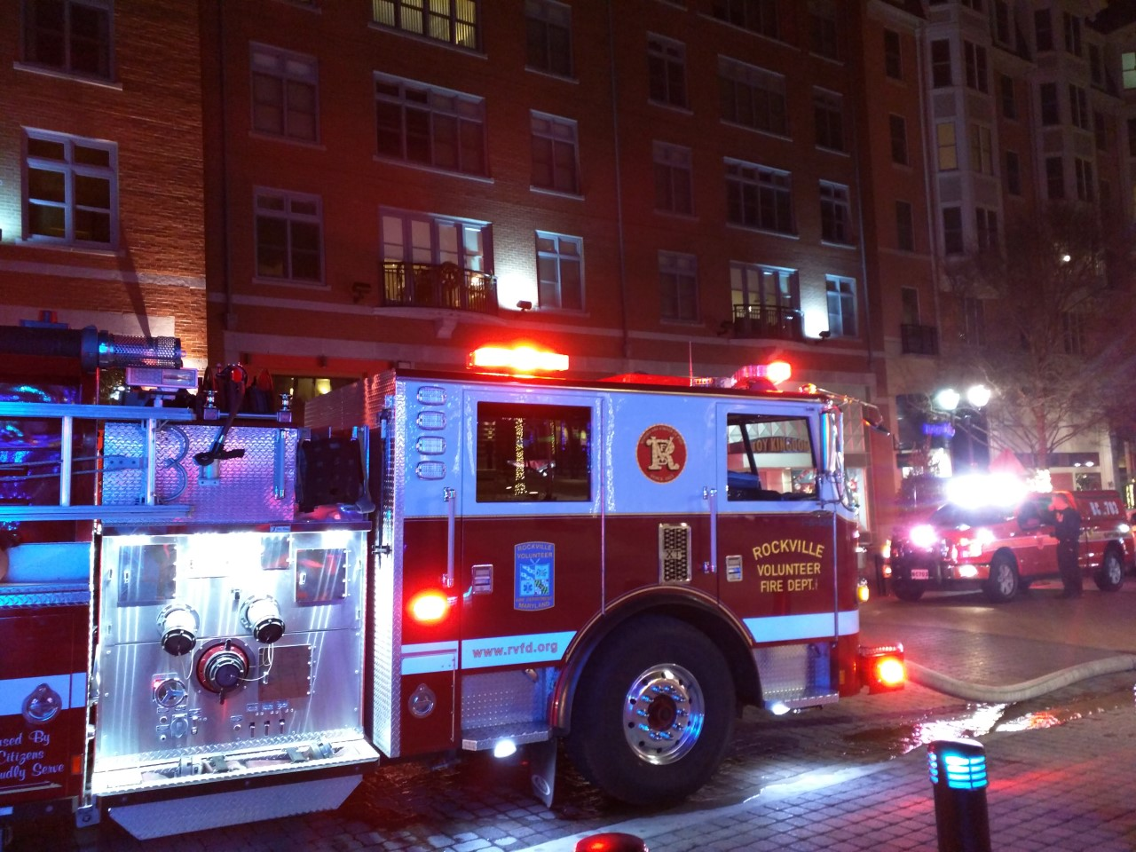 Rockville Nights: Firefighters respond to vacant American Tap Room ...