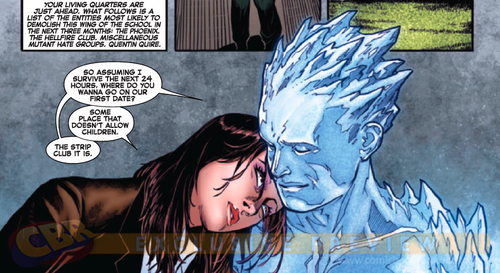 "X-Men - Iceman & Shadowcat [Bobby/Kitty] #1: ""I miss home...the ..."