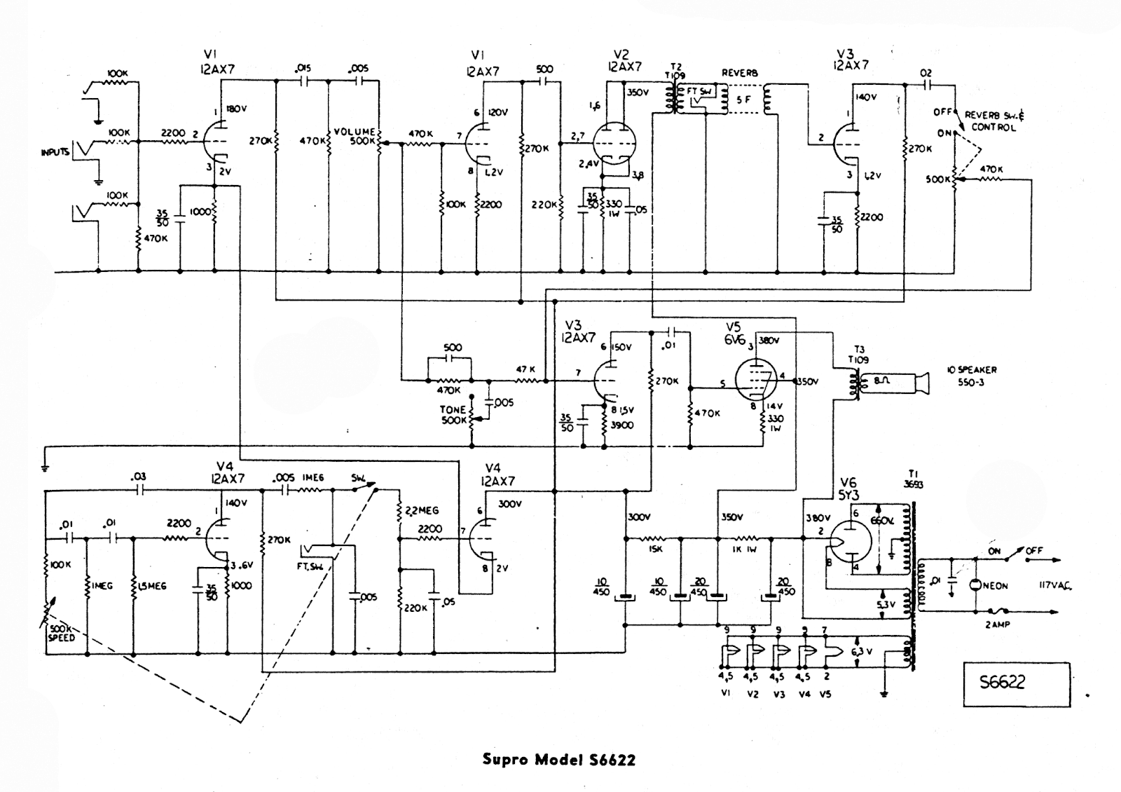 hight resolution of circuit national supro valconational supro valco schematic 1966 custom kraft 900 aka supro