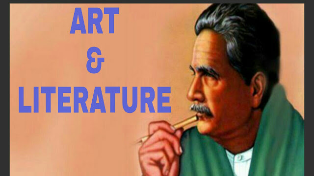 IQBAL's VIEW OF ART AND LITERATURE - dargowhar