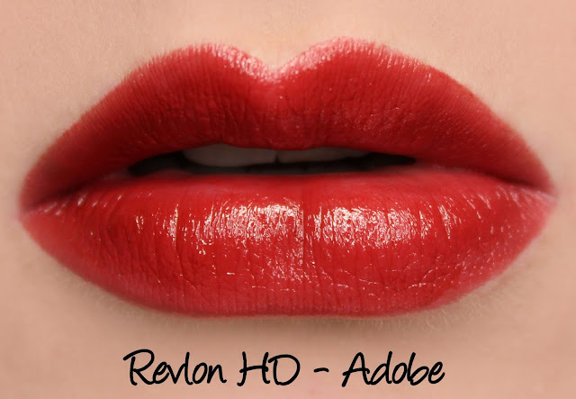 Revlon Ultra HD Gel Lipcolor - HD Adobe Swatches & Review