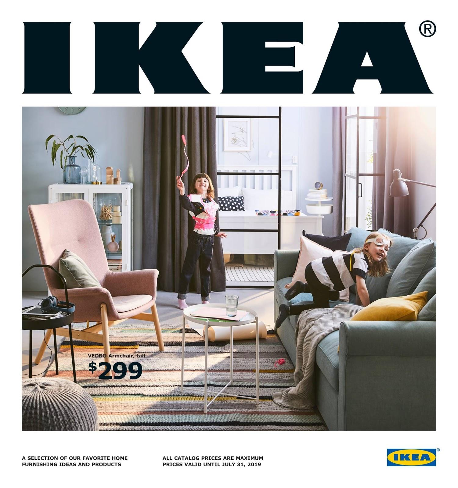 Magiczny świat Roślin Nowy Katalog Ikea 2019 Roślinne