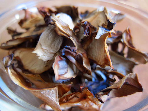 Dried maitake