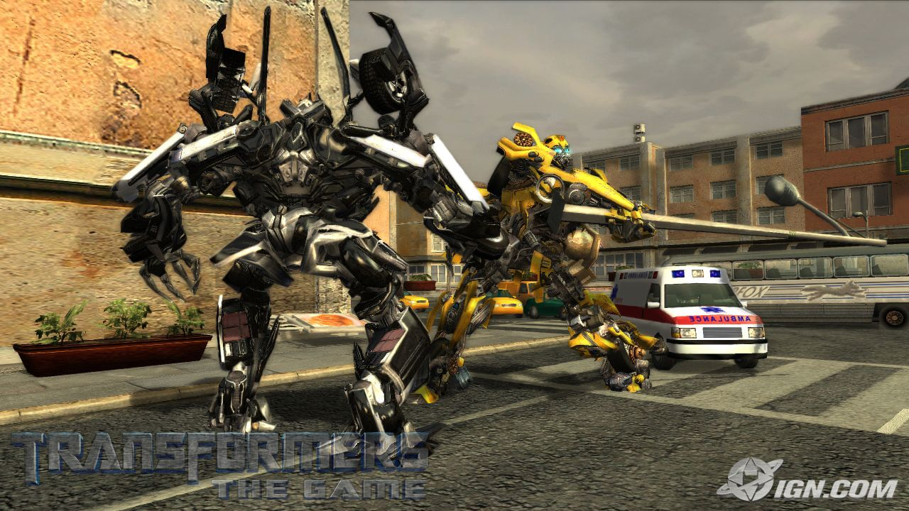 Transformers: the game games full.