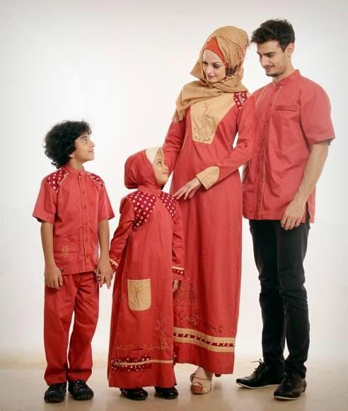 Model Baju Lebaran Keluarga