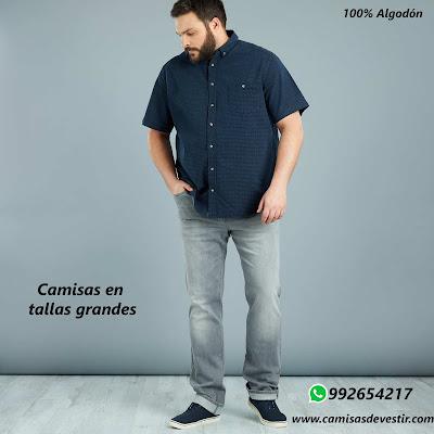 Camisas tallas grandes Ucayali