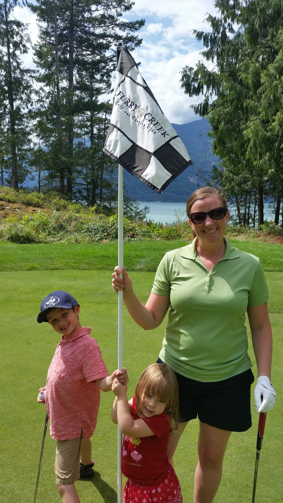 Saskmom's Tips for Golfing with Kids
