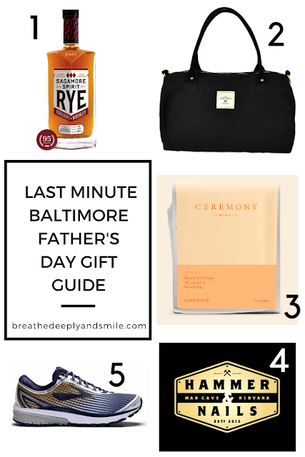 Last-Minute Father's Day Baltimore Gift Guide