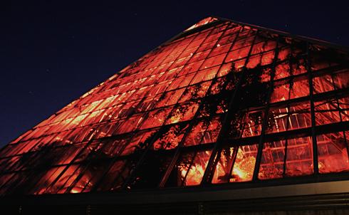 Muttart Conservatory Edmonton Alberta