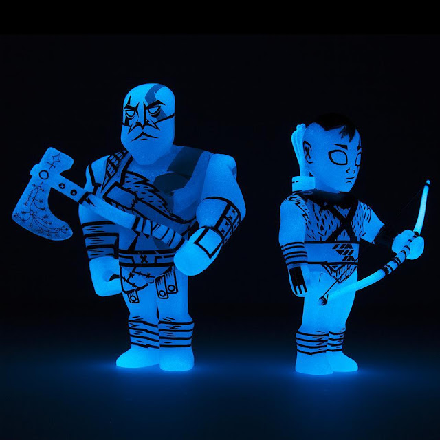 Toy Fair 2018 kidrobot God of War Mini Blind Box Figures