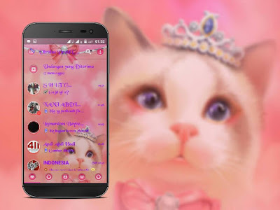 Droid Chat! v13.1.13 Tema Kucing Imut Based BBM v3.1.0.13 Apk