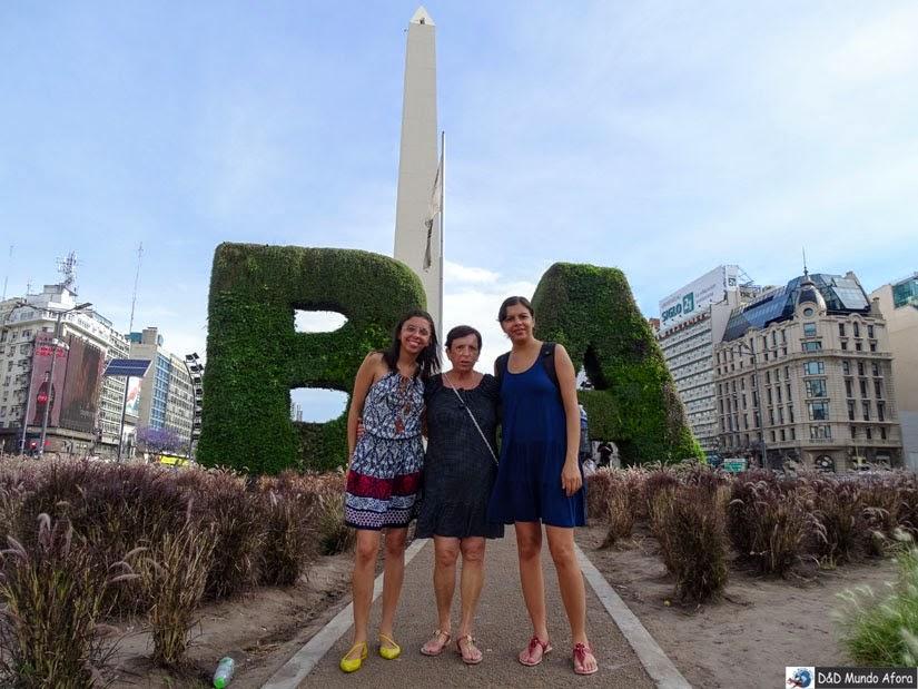 Viajar com idosos. Ops, com mamis - Buenos Aires
