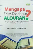 Buku Mengapa Tidak Tadabbur Alquran