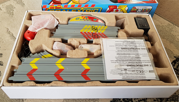 What's in the box for My First Scalextric