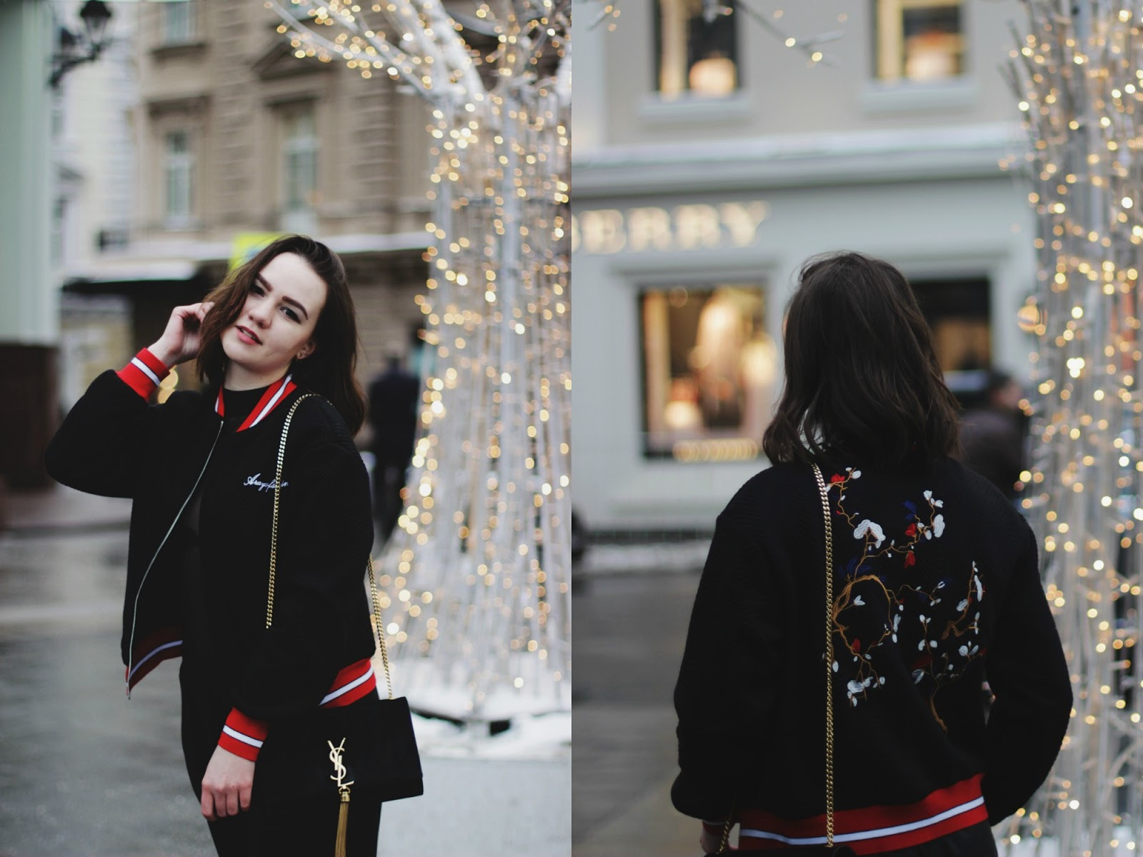 Embroidered Bomber Jacket | Fashion Blogger | Outfit