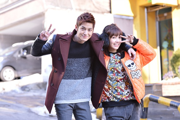 Image: Jung Eun-ji and her ex-boyfriend Kim Bum