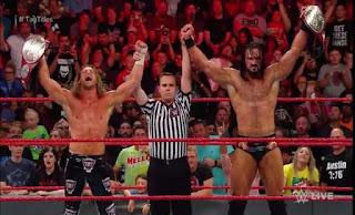 WWE - Drew McIntyre y Dolph Ziggler es la nueva pareja campeona de RAW