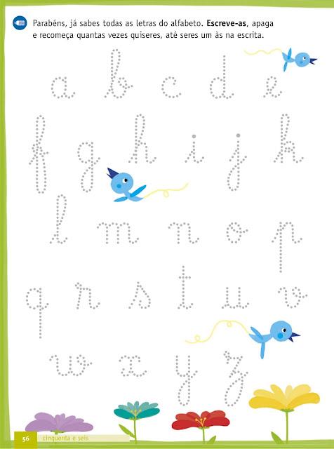 exercicios de caligrafia