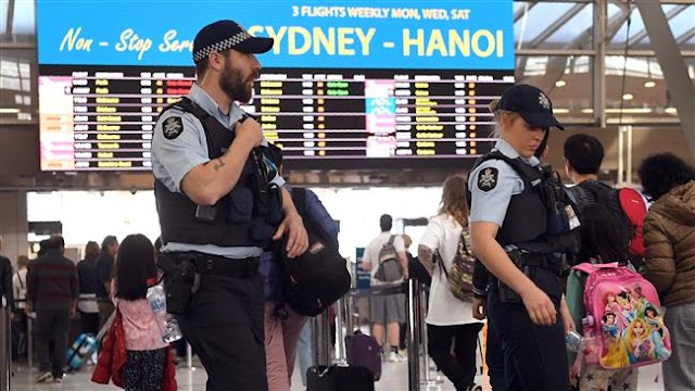 Australia to tighten airport security after foiled terror plot