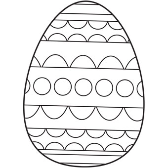 Easter Eggs Clipart Pics