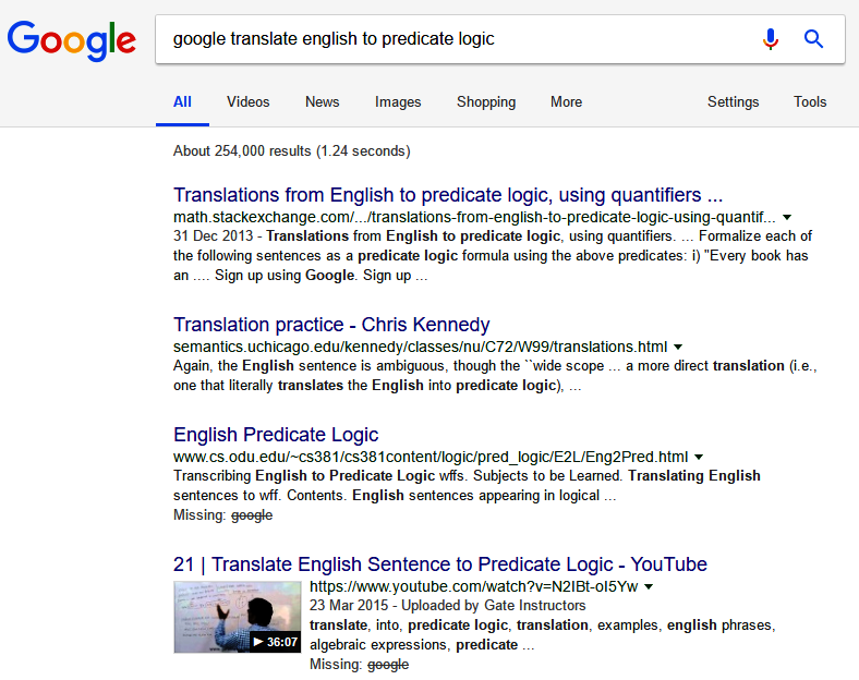 Wading Through Treacle: Google Translate: English to
