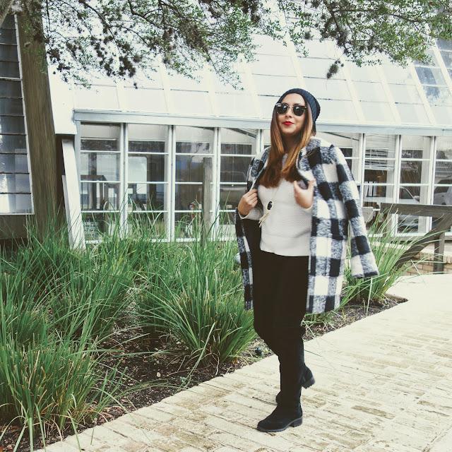 Plaid Coat Outfit