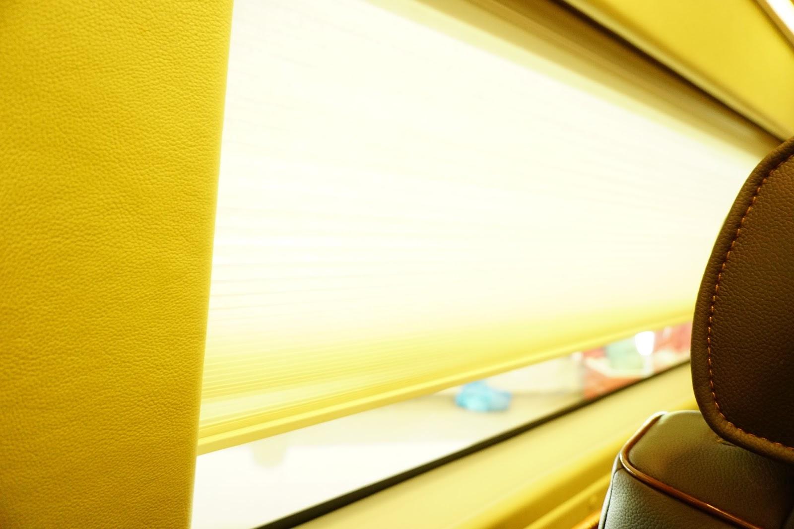 Ford Transit Limousine là một chiếc xe kín đáo và giúp hành khách thư thái nhất có thể