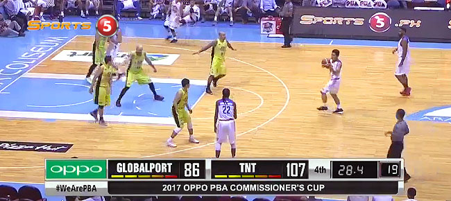 TNT def. GlobalPort, 109-88 (REPLAY VIDEO) April 21