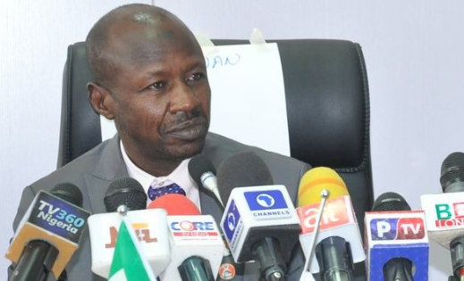 EFCC Boss Says N1.3t Stolen Under Jonathan