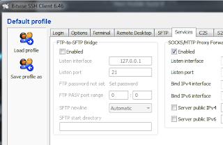 Bitvise SSH Client 6.46