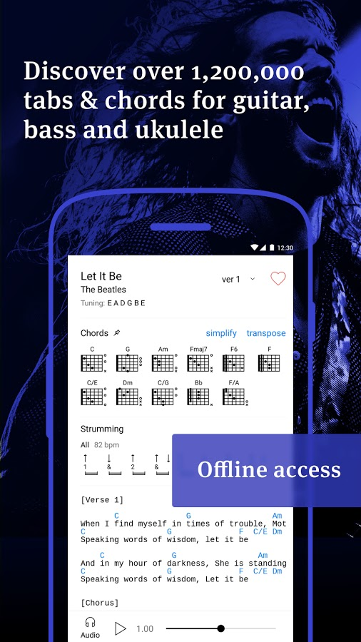 Ultimate Guitar Tabs Chords Pro Apk Paid Apps For Free