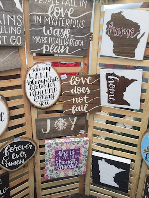 Handmade signs