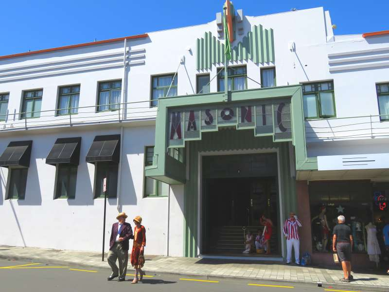 Art Deco in Napier