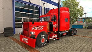Peterbilt 389 Coca-Cola skin by Johny1976