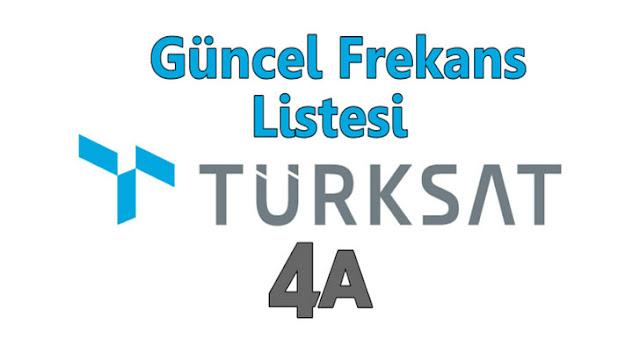Türksat 4A Yeni Frekansları